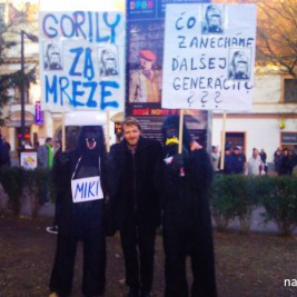 Protest proti gorilám