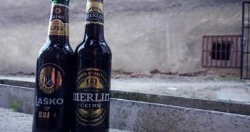 Merlin Černý a Laško Dark