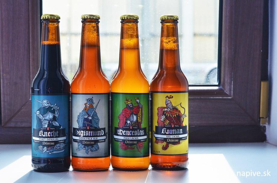 Warhorse pivá / Malešov