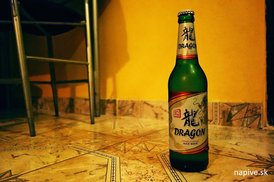 Ruské pivo Dragon