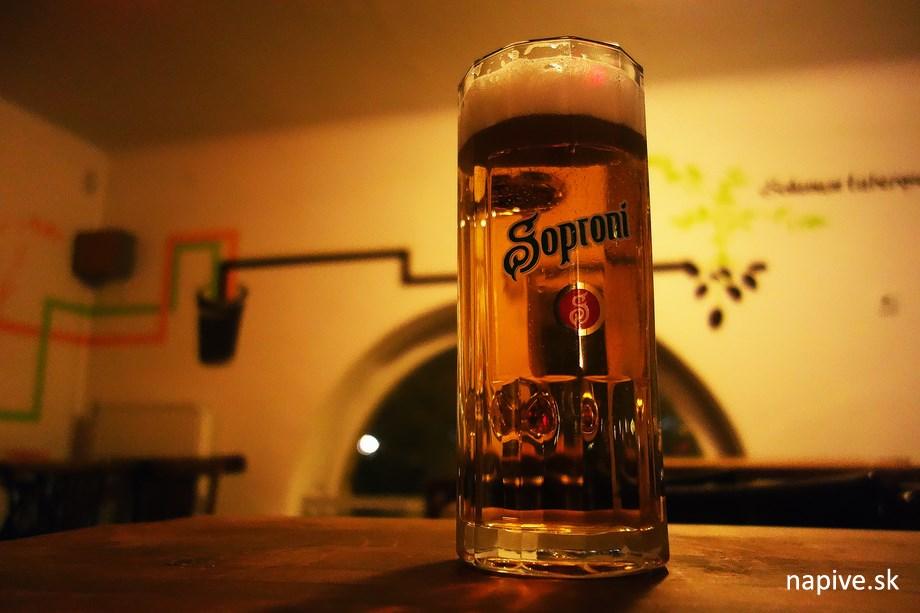 Soproni pivo pokus dva