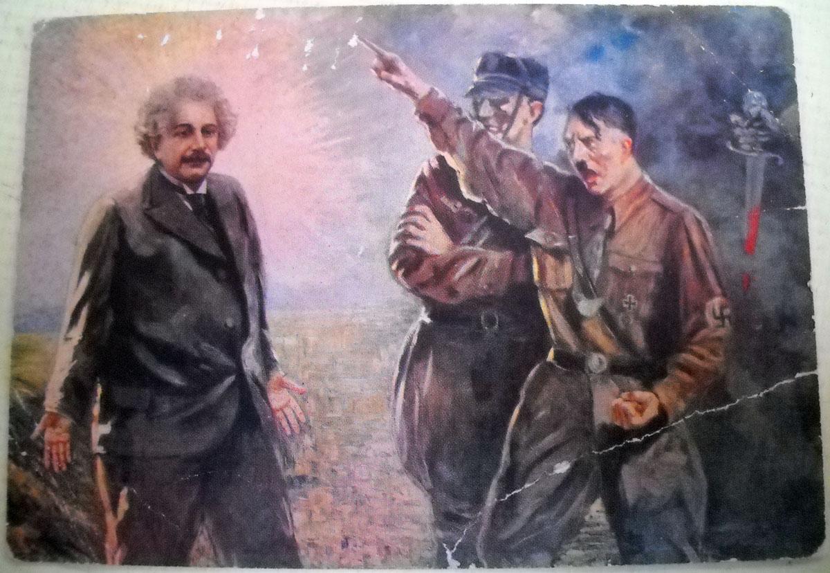 Albert Einsten a Hitler