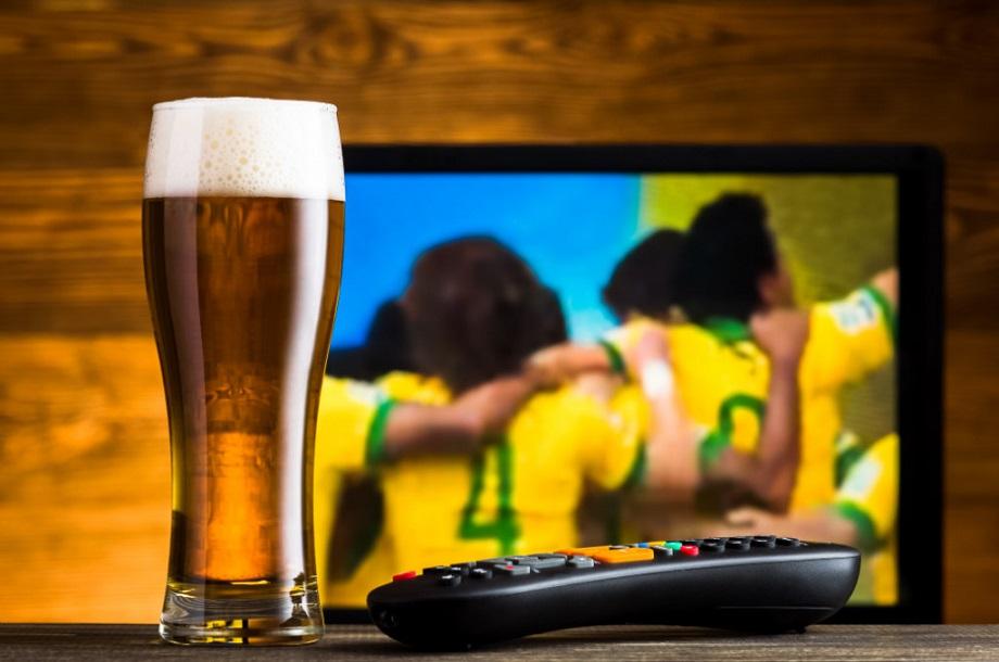 Pivo - TV - futbal