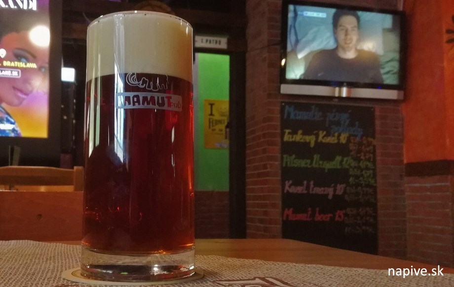 Mamut Beer 13° Polotmavý