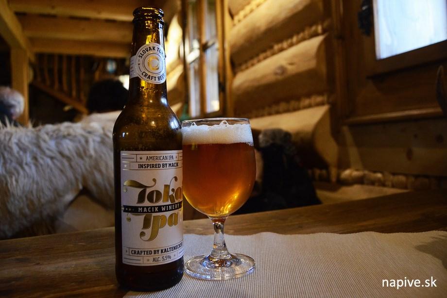 Koliba Žerucha, pivo Kaltenecker Tokaj Cibéby