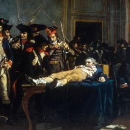 Zatknutý Robespierre
