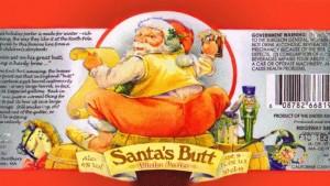 Santa's butt Porter