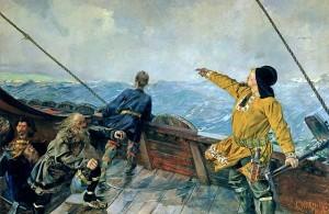 Vikingovia objavujú Ameriku