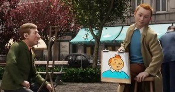 Spielbergov Tintin