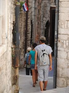 Úzke uličky v Pevnosti sv. Michala
