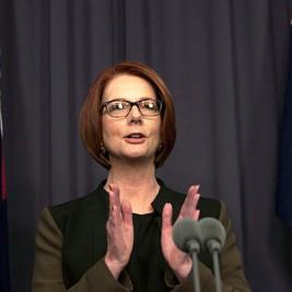 Austrálska premiérka Julia Gillardová