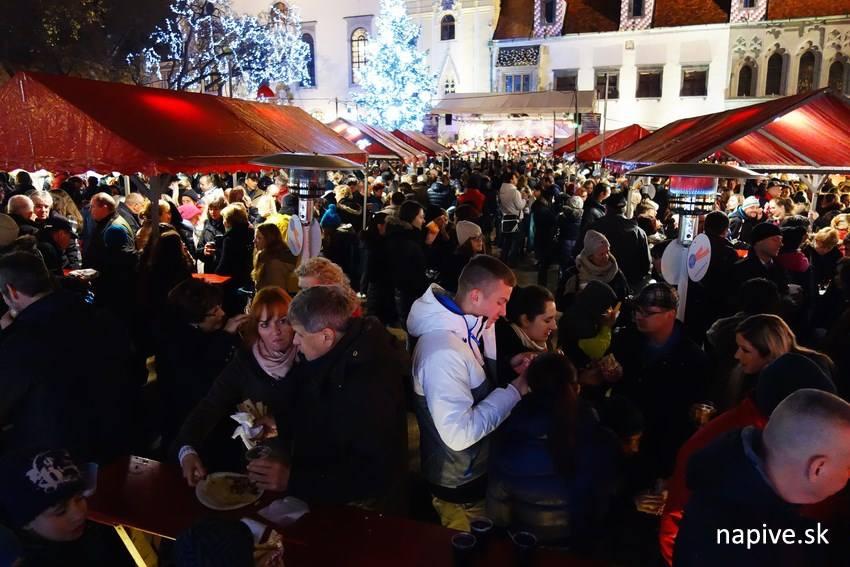 Staromestské Vianočné trhy v Bratislave