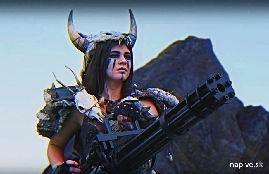 Kung Fury - Barbarianna