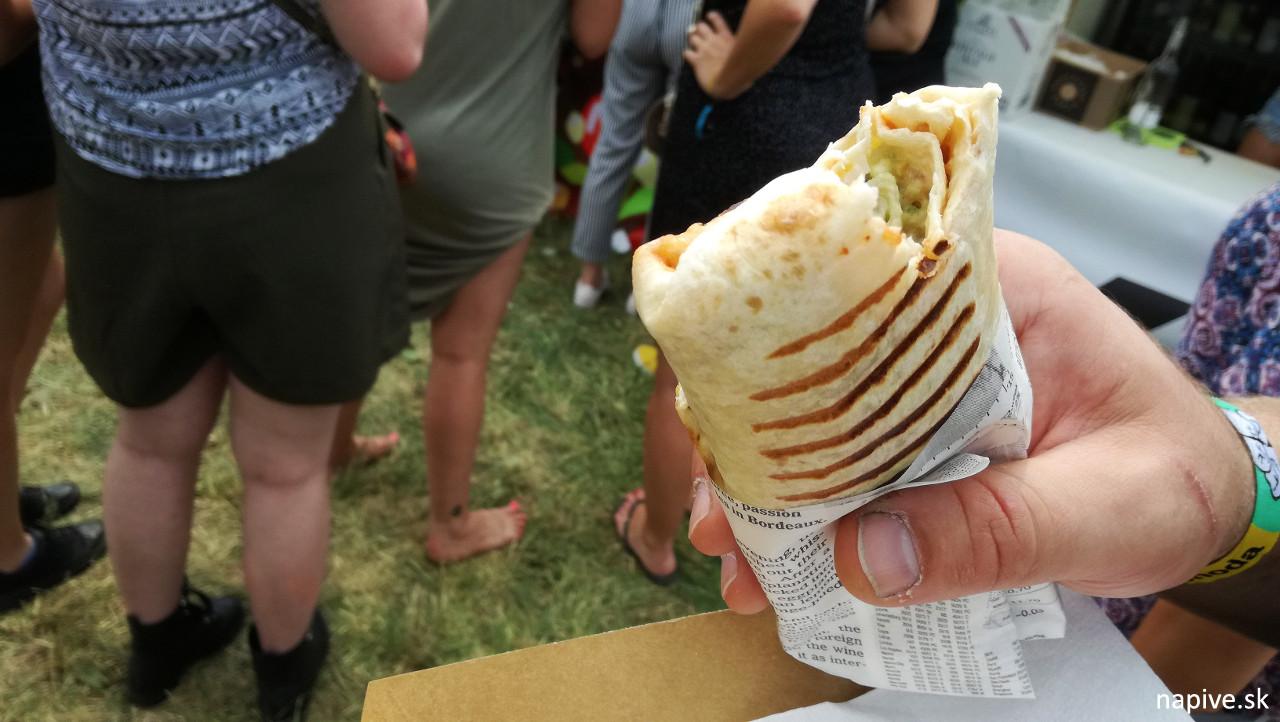 Vegetariánske burrito