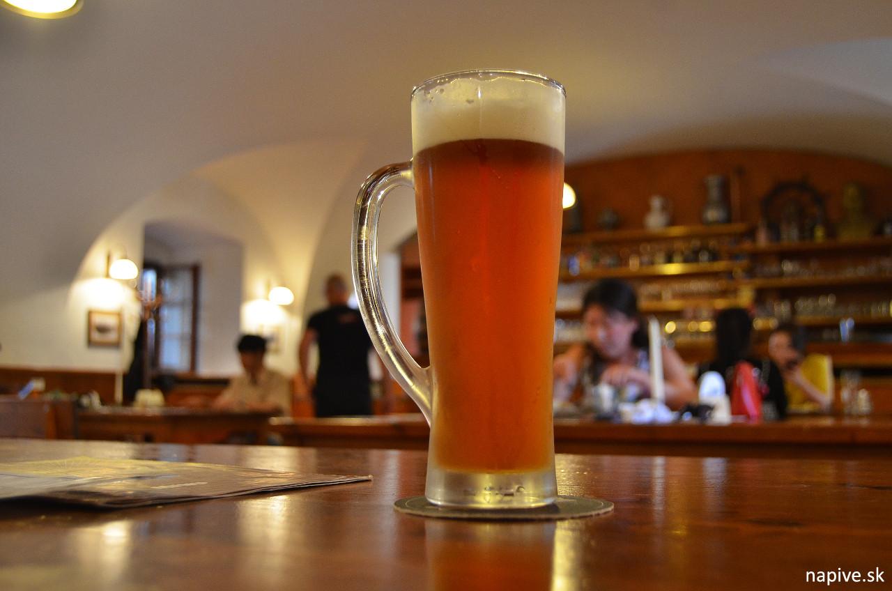 Svatý Norbert, Klášterní pivovar Strahov, Polotmavá 13° Amber