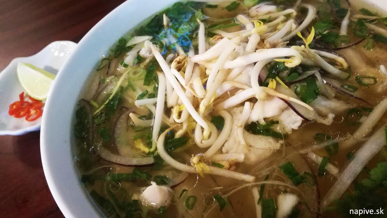 Vientamská polievka v Com Bui