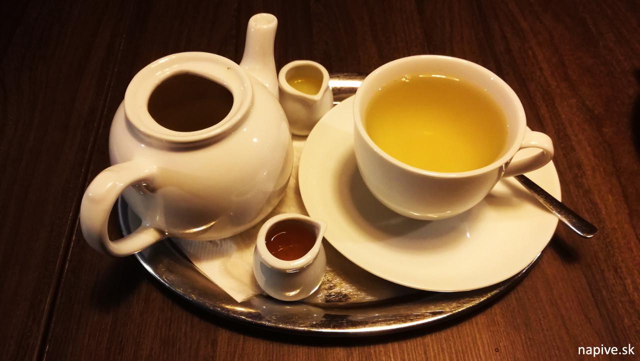 Čaj Gyokuro v Tatami