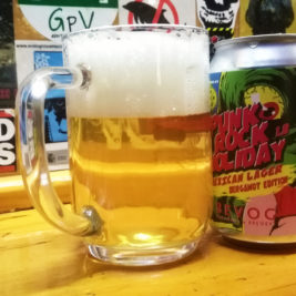 Bevog Punk Rock Holiday Mexican Lager Bergamot Edition