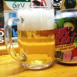 Bevog Punk Rock Holiday Mexican Lager Bergamot Edition
