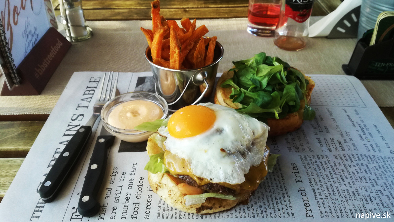 Englishman burger