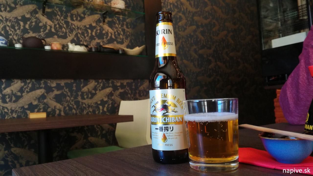 Kirin Ichiban pivo