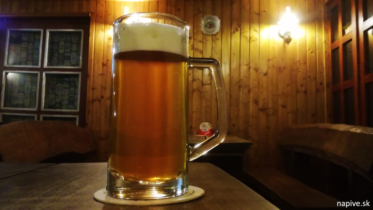 Orechové pivo Starosloviensky pivovar