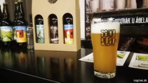 Pivovar u Ábela - pšeničný Cajch