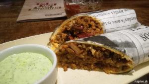 Burrito s medvedím cesnakom Bokovka Trnava