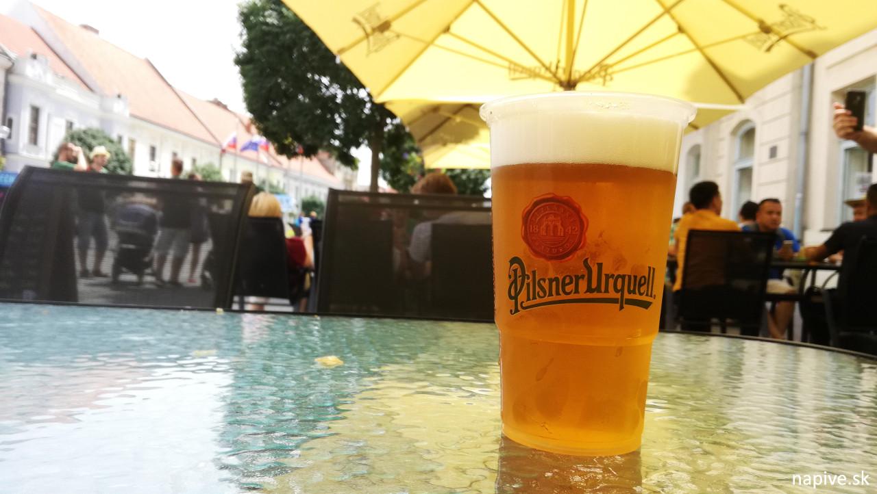 Plzeň v Radničnej pivárni