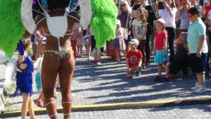 Tanečnica Samby v Nitre
