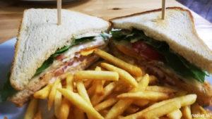Pivní Sady Kuřecí sendvič