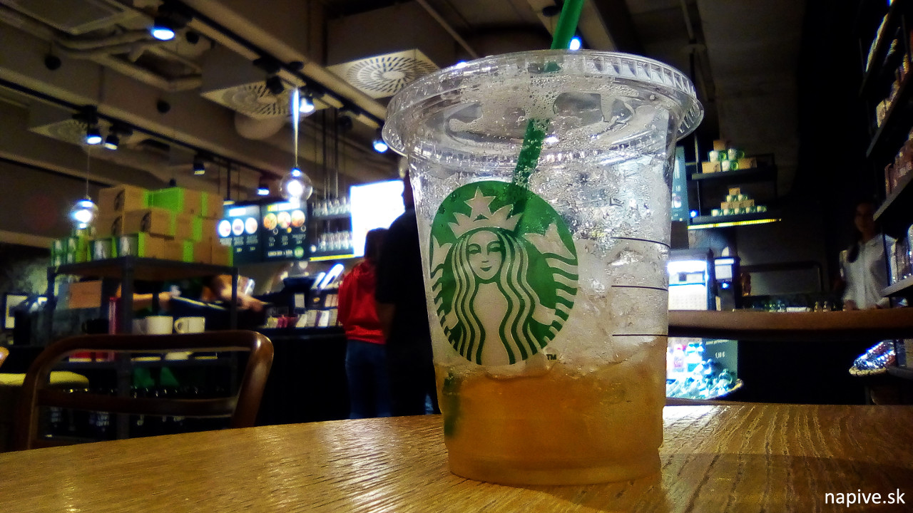Starbucks Black Mango Tea