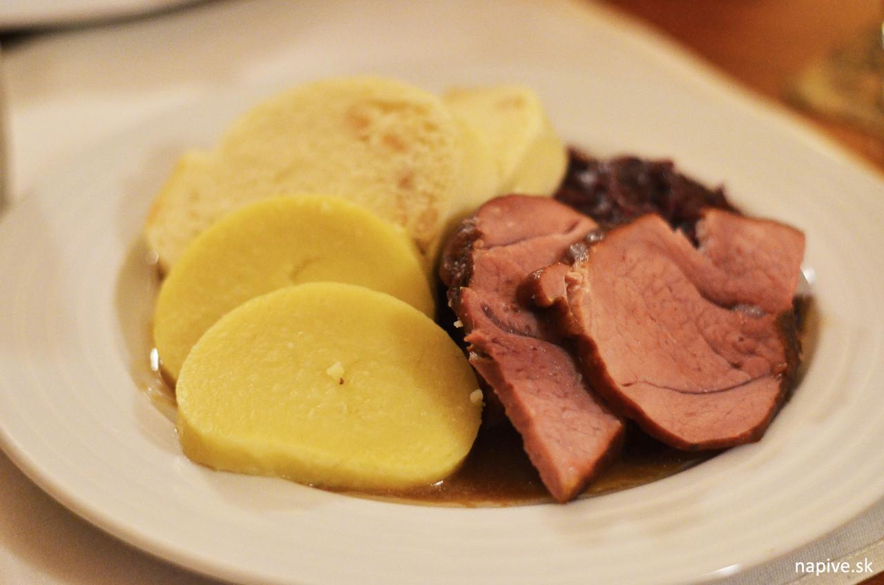 Uzené maso Restaurace Na Klárově
