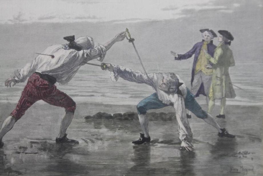 Slávne duely minulosti