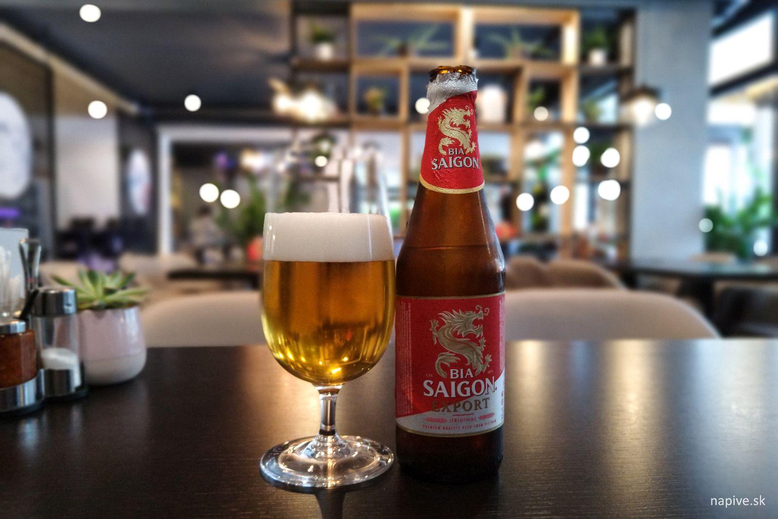 Vietnamské pivo Saigon